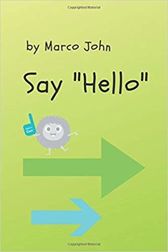 Say Hello: Notebook, Journal, Diary (110 Pages, Checkbook, 6 x 9)