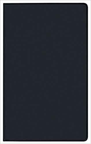 Taschenkalender Saturn Leporello PVC schwarz 2021: Terminplaner mit gefalztem Monatskalendarium. Dünner Buchkalender - wiederverwendbar. 1 Monat 2 Seiten. 8,7 x 15,3 cm