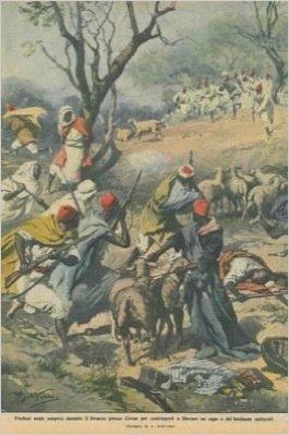 Predoni arabi sorpresi presso Cirene.