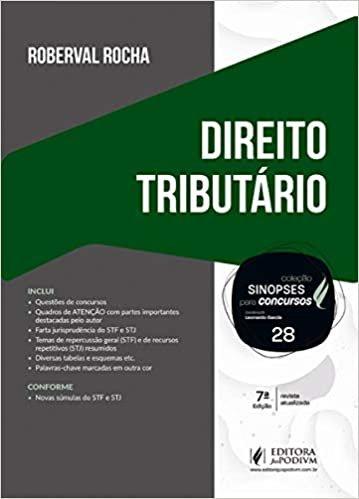 Sinopses Para Concursos - Volume 28 - Direito Tributário - 7ª Edição (2020)
