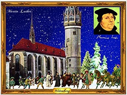"Adventskalender ""Wittenberg - Martin Luther"": Papier-Adventskalender"