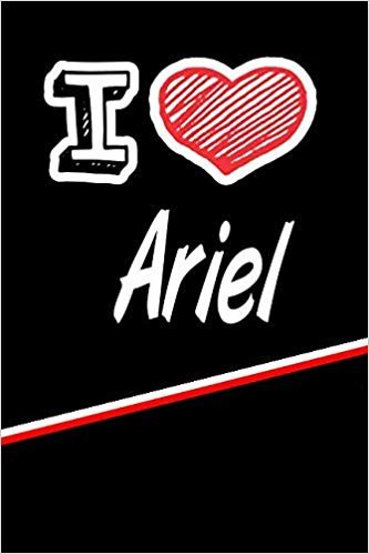 """I Love Ariel: Blood Sugar Diet Diary journal log featuring 120 pages 6""""x9"""""""