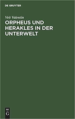 Orpheus und Herakles in der Unterwelt