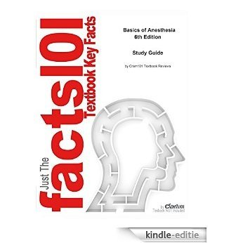 e-Study Guide for Basics of Anesthesia, textbook by Ronald D. Miller: Medicine, Medicine [Kindle-editie]
