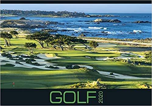 Golf 2020 - internationaler Golfkalender - Bildkalender (49 x 34) - Sport - Wandkalender