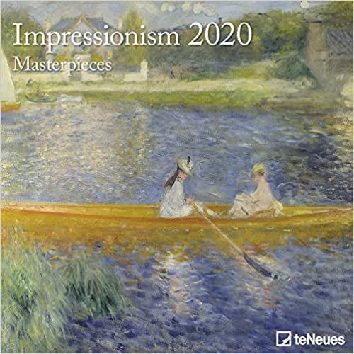 Art Calendar - Impressionism Masterpieces 2020 Square Wall Calendar
