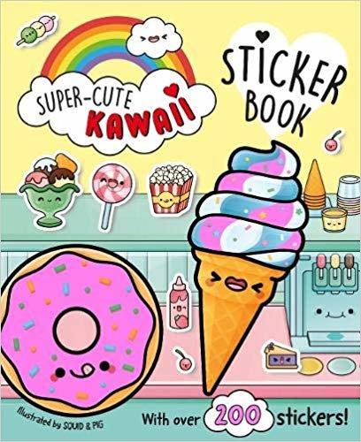 Super-Cute Kawaii Sticker Book
