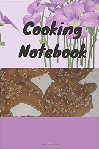 Cooking notebook: cooking notebook journal