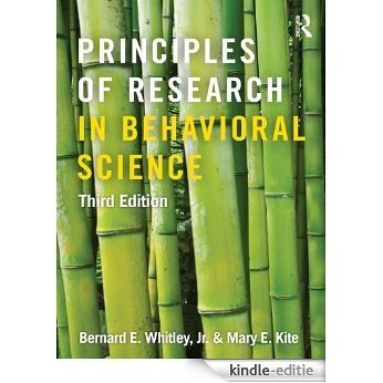 Principles of Research in Behavioral Science: Third Edition [Kindle-editie]