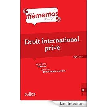 Droit international privé (Mémentos) (French Edition) [Kindle-editie]