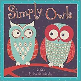 Simply Owls 2020 Calendar