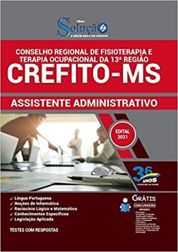 Apostila Concurso CREFITO MS - Assistente Administrativo