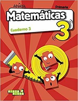 Matemáticas 3. Cuaderno 3. (Pieza a Pieza)