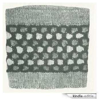 #1375 THE CASSIDY STOCKING TOP VINTAGE KNITTING PATTERN (English Edition) [Kindle-editie]