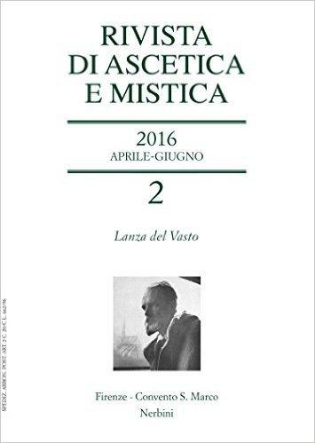 Rivista di ascetica e mistica (2016)
