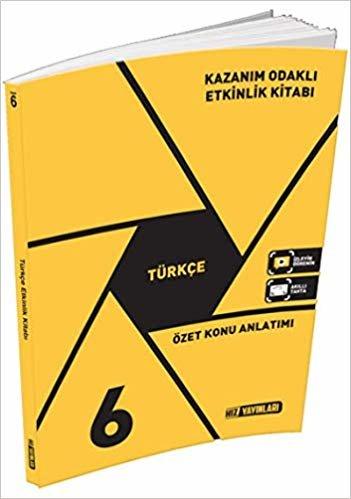 6.Sınıf Türkçe Özet Konu Anlatımlı Etkinlik Kitabı - Hız