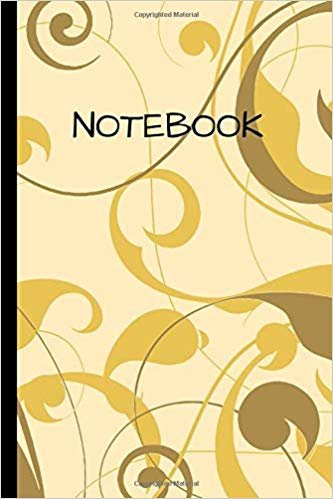 "Notebook: Floral decoration flowers  Writing 120 pages Notebook Journal -  Small Lined  (6"" x 9"" )"