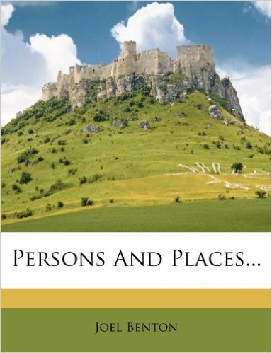 Persons and Places...