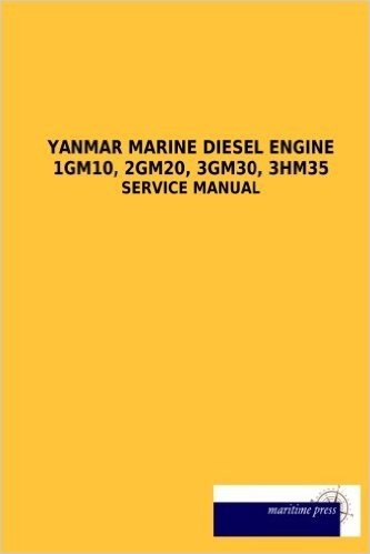 Yanmar Marine Diesel Engine 1gm10, 2gm20, 3gm30, 3hm35