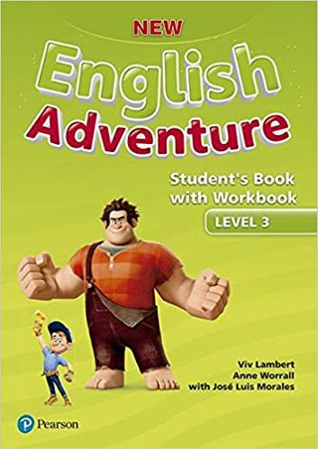 New English Adventure Student's Book Pack Level 3: Student's Book With Workbook