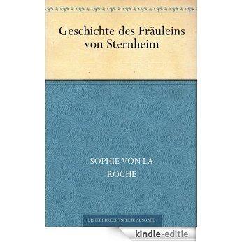 Geschichte des Fräuleins von Sternheim (German Edition) [Kindle-editie]