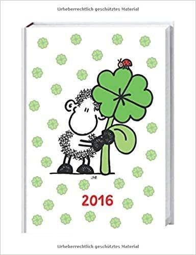 Sheepworld 17-Monats-Kalenderbuch A6 2016