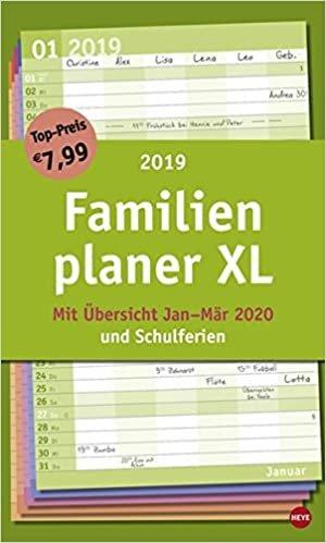 Familienplaner XL Basic 2019
