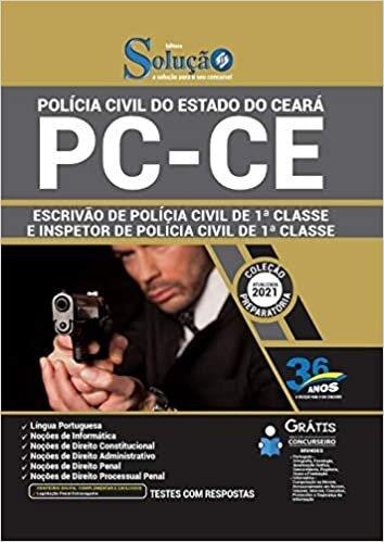 Apostila PC CE Escrivão e Inspetor Polícia Civil de 1ª Classe
