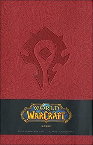World of Warcraft Horde Hardcover Ruled Journal (Large) (Insights Journals)