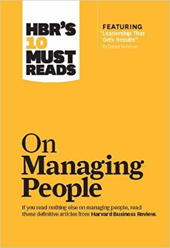 HBR's 10 Must Reads on Managing People