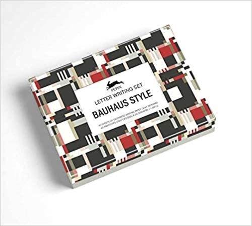 Bauhaus Style: Letter Writing Set (Multilingual Edition)