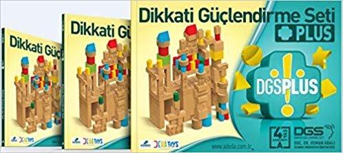 Dikkati Güçlendirme Seti Plus 4 Yaş 3 Kitap
