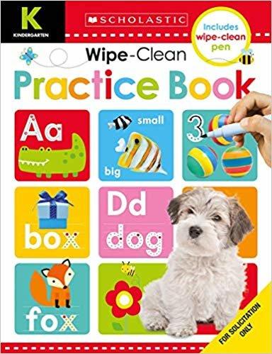Wipe Clean Workbooks: Kindergarten Practice Book (Scholastic Early Learners)