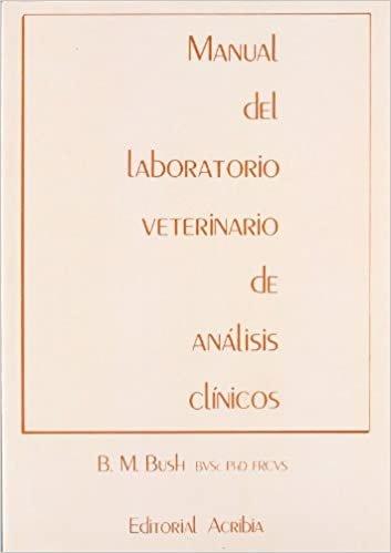 Manual de laboratorio veterinario de análisis clínicos