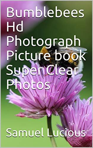 Bumblebees Hd Photograph Picture book Super Clear Photos (English Edition)