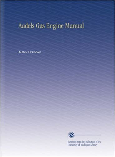 Audels Gas Engine Manual