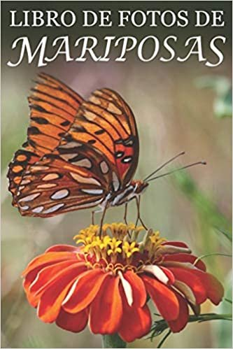 Libro de Fotos de Mariposas: Ayuda para Personas Mayores con Demencia o Alzheimer (Libros que Facilitan la Lectura a Personas con Demencia)