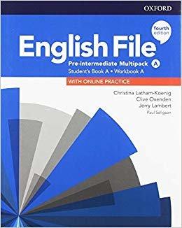English File: Pre-Intermediate: Student's Book/Workbook Multi-Pack A