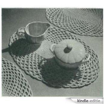 #1283 BELASTRAW MATS VINTAGE CROCHET PATTERN (Single Patterns) (English Edition) [Kindle-editie]