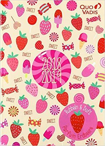 """Schülerkalender 2018/2019 Forum Sweet sortiert: unterschiedliche Cover: """"Erdbeere"""", """"Popcorn"""""""