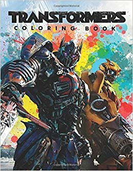 TRANSFORMERS Coloring Book: Exclusive Illustrations for Kids and Adults