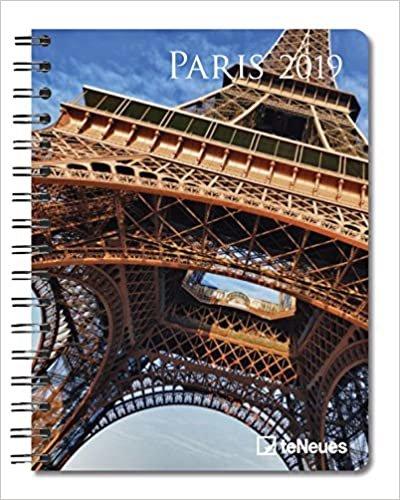 2019 Paris Deluxe Diary- teNeues - 16.5 x 21.6 cm