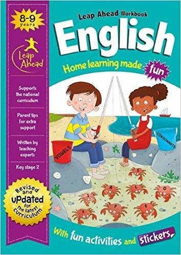 Leap Ahead Workbook: English 8-9 Years (Leap Ahead Workbook Expert)