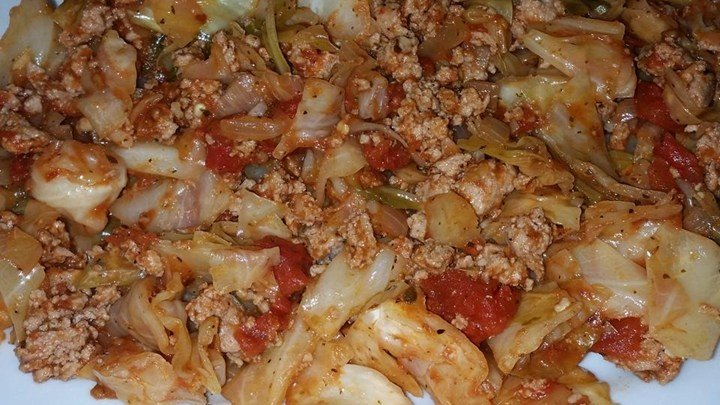 'Unstuffed' Cabbage with a Kick download