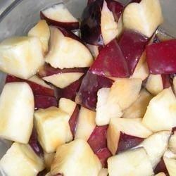 Caramelized Apple Bites