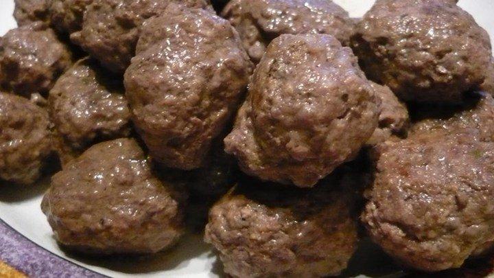 Fabienne's Bison Meatballs