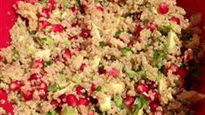 Avocado, Pomegranate, and Quinoa Salad download