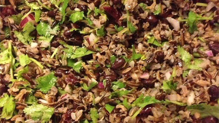 Black Bean and Wild Rice Salad download