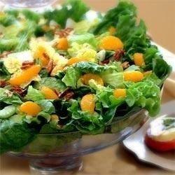 Mandarin-Nut Tossed Salad