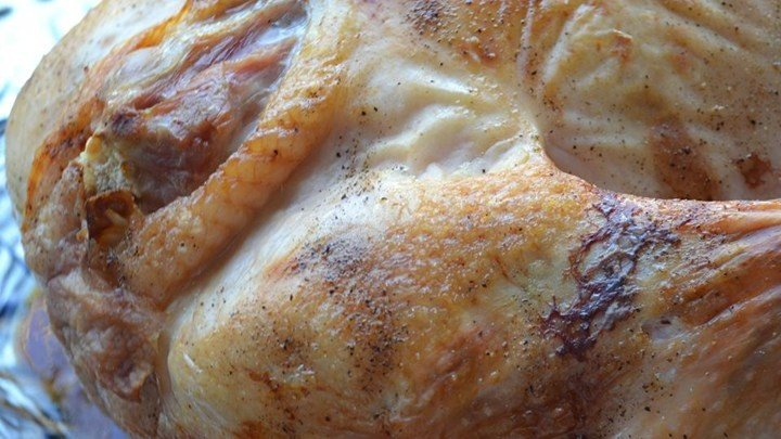 Simple Classic Roasted Turkey